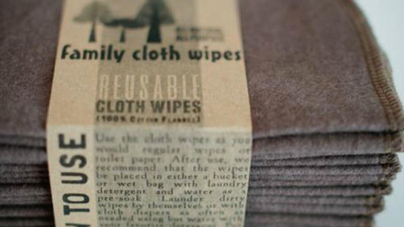 Imagem - Family Cloth. Foto: Creeksidekid via Etsy/ etsy.com/shop/familyclothwipes